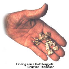 Finding some Gold Nuggets.